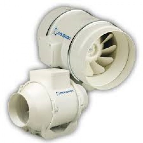 Inline Air Conditioner : Umd t mm mixed flow inline timer fan