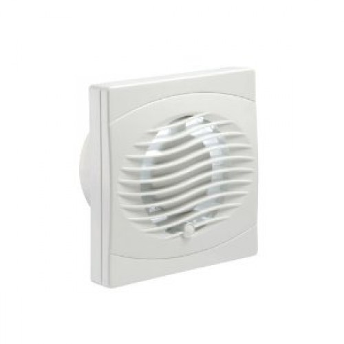 Manrose bvf150t 6 window wall timer for 6 bathroom extractor fan with timer